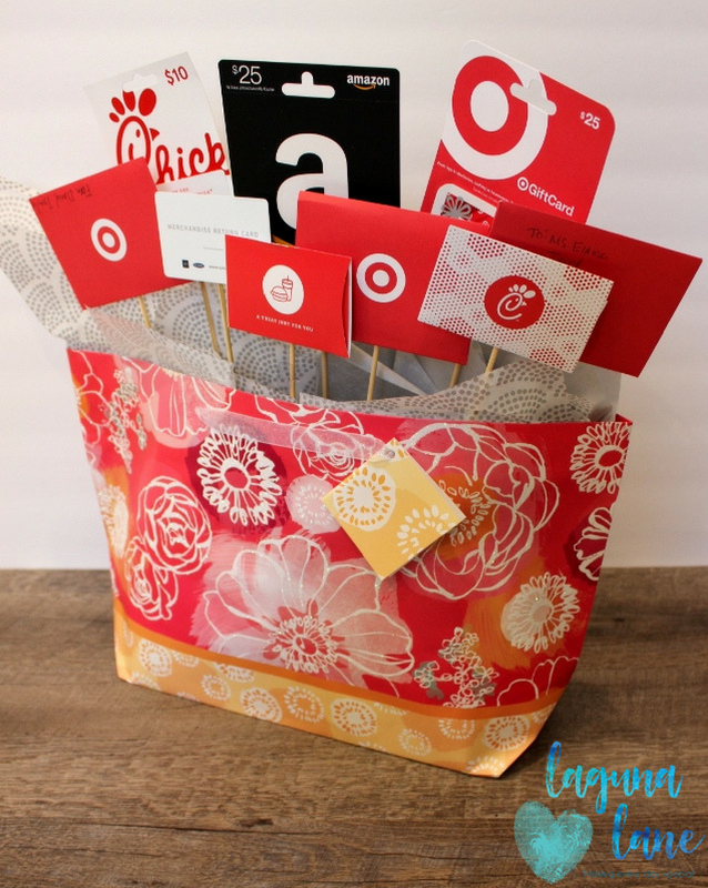 Teacher Gift Card Bouquet4 Lagunalane Laguna Lane